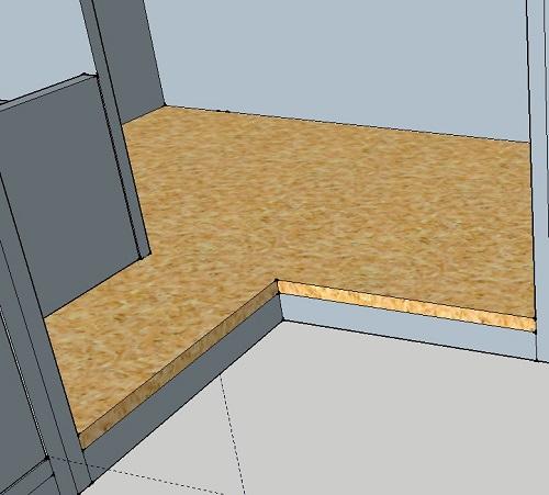 Comment couper parfaitement un angle droit entrant for Comment couper plinthes angle